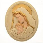 Ovale Madonna col bambino (29 x 24)