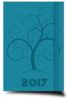 Agenda planning 2017 turchese