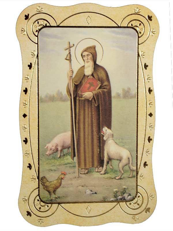 Immagine sant 39 antonio abate 10 pezzi in carta italia for Arredo bimbo sant antonio abate