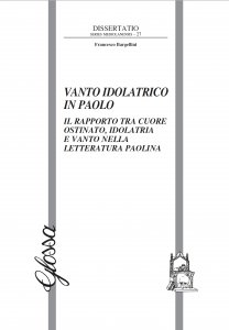 Copertina di 'Vanto idolatrico in Paolo'