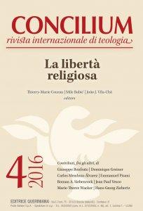 Copertina di 'Concilium 4-2016: La libertà religiosa'