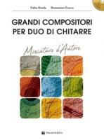 Grandi compositori per duo di chitarre. Miniature d'autore. Con file audio per download. Con CD-ROM - Renda Fabio, Trucco Beniamino