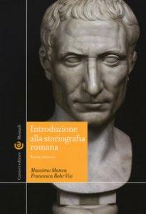 Copertina di 'Introduzione alla storiografia romana'
