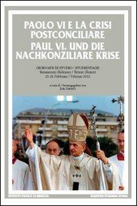 Copertina di 'Paolo VI e la crisi postconciliare'