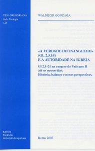 """Copertina di '""""A verdade do evangelho"""" (gl 2,5.14) e a autoridade na igreja'"""
