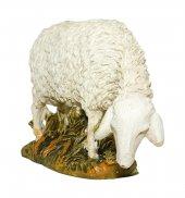 Immagine di 'Pecora che bruca su base Linea Martino Landi - presepe da 16 cm'