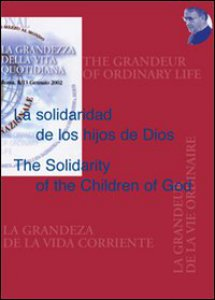 Copertina di 'La solidaridad de los hijos de DiosThe Solidarity of the Children of God'