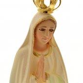 """Immagine di 'Statua sacra """"Madonna di Fatima e colombe"""" - altezza 34,5 cm'"""