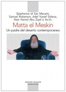 Copertina di 'Matta el Meskin: un padre del deserto contemporaneo'