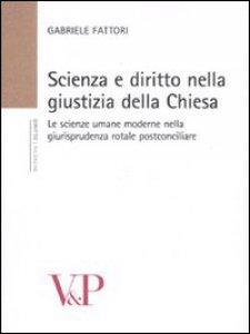Copertina di 'Scienza e diritto nella giustizia della Chiesa'