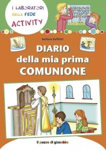 Copertina di 'Diario della mia prima comunione'