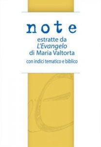 Copertina di 'Note estratte da «L'Evangelo» di Maria Valtorta'