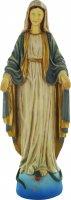 Statua Madonna Miracolosa in resina colorata cm 40 di  su LibreriadelSanto.it
