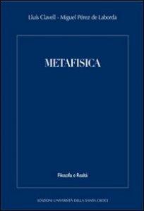 Copertina di 'Metafisica.'