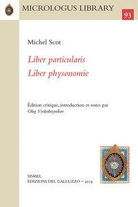 Copertina di 'Liber particularis-Liber physionomie. Ediz. critica'
