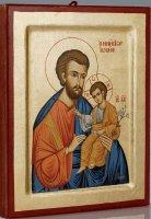 "Icona ""San Giuseppe"" (cm 30 x 23)"