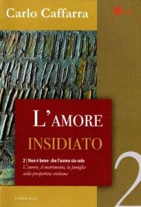 Copertina di 'L'amore insidiato  II volume del dittico. Non è bene che l'uomo sia solo'