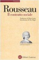 Il contratto sociale. Testo francese a fronte - Rousseau Jean-Jacques