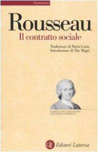 Copertina di 'Il contratto sociale. Testo francese a fronte'