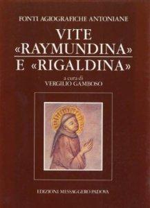 Copertina di 'Fonti agiografiche antoniane [vol_4] / Vite Raymundina e Rigaldina'