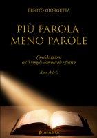 Più parola meno parole - Benito Giorgetta