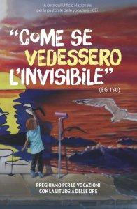 Copertina di 'Come se vedessero l'invisibile'