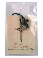 Immagine di 'Croce con cordoncino e pagellina'