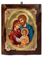"Icona ""Santa Famiglia"" (cm 16 x 20)"