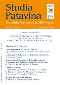Copertina di 'Studia Patavina 2015/2'