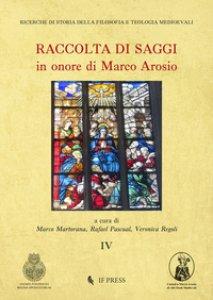 Copertina di 'Raccolta di saggi in onore di Marco Arosio'