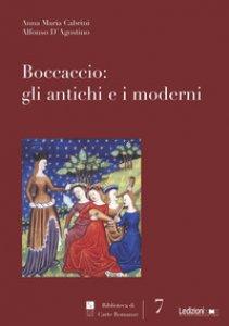 Copertina di 'Boccaccio: gli antichi e i moderni'