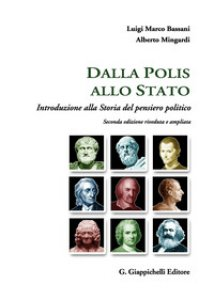 Copertina di 'Dalla polis allo Stato. Introduzione alla storia del pensiero politico'
