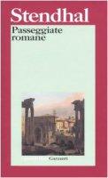 Passeggiate romane - Stendhal