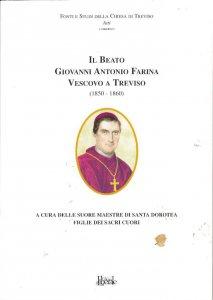 Copertina di 'Il beato Giovanni Antonio Farina, vescovo di Treviso'