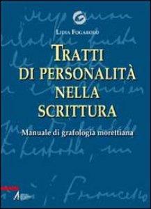Copertina di 'Tratti di personalit� nella scrittura'