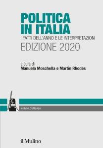 Copertina di 'Politica in Italia. I fatti dell'anno e le interpretazioni. Edizione 2020'