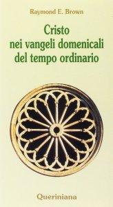 Copertina di 'Cristo nei vangeli domenicali del tempo ordinario. Note e commenti ai brani evangelici delle domeniche del tempo ordinario nel ciclo liturgico triennale'