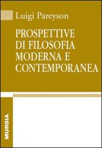Copertina di 'Prospettive di filosofia moderna e contemporanea'