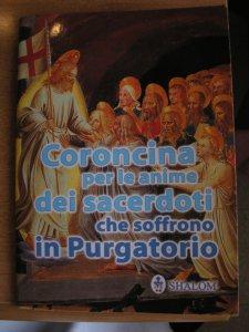 Copertina di 'Coroncina per le anime dei sacerdoti che soffrono in purgatorio'