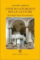 Ufficio liturgico delle letture - Leonardo Giordano
