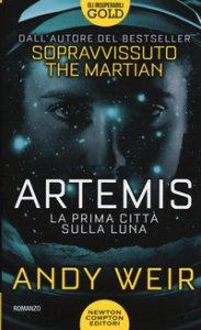 Copertina di 'Artemis. La prima città sulla luna'