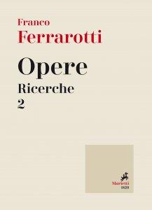 Copertina di 'Opere. Ricerche. Volume 2.'