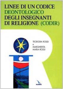 Copertina di 'Linee di un codice deontologico degli insegnanti di religione'
