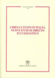 Copertina di 'Chiesa e Stato in Italia'