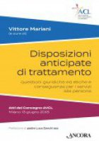 Disposizioni anticipate di trattamento - Vittore Mariani