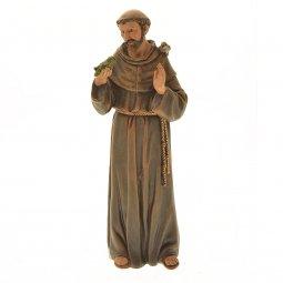 "Copertina di 'Statua in resina colorata ""San Francesco"" - altezza 16 cm'"