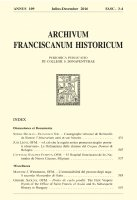 «A ciò che la regola nostra promessa meglio possiati observare». Le ordinazioni delle clarisse del Corpus Domini di Bologna (pp. 507-535) - Juri Leoni