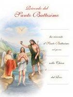 Pergamena grande Battesimo (10 pezzi)