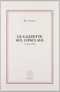 Copertina di 'Gazzette sul conclave (1724-1779)'