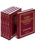 Storia della letteratura italiana e antologia - De Sanctis Francesco